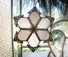 Winter Wonderland Snowflake by MoreThanColors on Etsy, $25.00