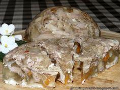 Galaretka z nóżek wieprzowych Eggs, Meat, Breakfast, Food, Gelee, Morning Coffee, Essen, Egg, Meals