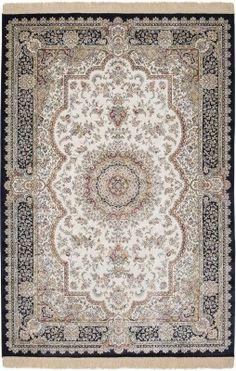 Kodin1 - Topaz matto 135x195cm beige/musta   Plyysimatot