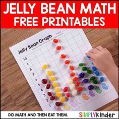Jelly Bean Math - Easter Free Activities Three free activities for jelly beans that your students will love from Simply Kinder. Elementary Math, Kindergarten Math, Math Math, Math Games, Peeps Science Experiment, Science Experiments, Cubes Math, 3rd Grade Math Worksheets, Easter Worksheets