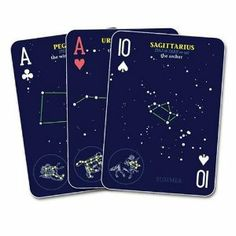 Night Sky Playing Cards: Playing With the Constellations