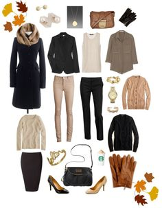 """""""Fall Wardrobe"""" by autumn85 on Polyvore"""