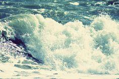 waves tumble