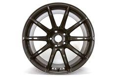Gram Lights 57Transcend - 18x9.5 Rim Size/ +38 Offset/ 5-114.3 Bolt Pattern - Super Dark Gunmetal Wheel