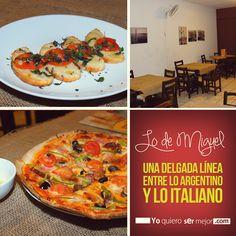 Lo de Miguel #RestaurantesElSalvador #ArgentinoElSalvador #ItalianoElSalvador #QueHacerEnElSalvador #ComidaArgentina #ComidaItaliana #Pizzas #Yoquierosermejor