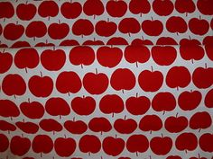 Apple Basket Fabric by Nutex 100% Cotton FQ | eBay