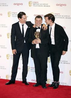 ... the man who brought so much joy as well as sorrow into our hearts, the man who let half of the characters he's written die, the person who loves Doctor Who since he was a child and who adores Sherlock Holmes so much he brought it into modern times for us... the biggest troll of them all... STEVEN MOFFAT!