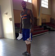 Melo's Trainer: He Wants To Be Top-3 Player In The World- http://getmybuzzup.com/wp-content/uploads/2014/08/354748-thumb.png- http://getmybuzzup.com/melos-trainer-he-wants-to-be/- By Glenn Erby There once was a time when Carmelo Anthony was unquestionably one of the top-five players in all of basketball. Now with the emergence of Kevin Durant, Chris Paul, Stephen Curry and Paul George just to name a few, Anthony is now considered a prolific scorer who'll never win...-