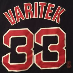 2615597d Boston Red Sox Jason Varitek #33 Majestic Short Sleeve Home T-shirt 2XL XXL