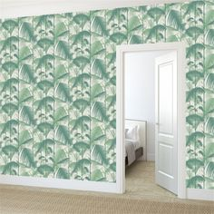 Papier peint - Cole and Son - Palm Jungle - Vert