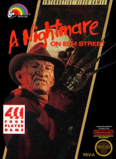 A Nightmare on Elm Street video game for the Nintendo NES