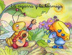 Fabulas La La Sigarra Y Hormiga | LA CIGARRA Y LA HORMIGA