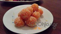 Τρουφάκια με καρότο και ινδοκάρυδο - Συνταγή εύκολες - Σχετικά με Νηστίσιμες, Γλυκά, Φρούτων - Ποσότητα 30 τμχ - Χρόνος ετοιμασίας λιγότερο από 90 λεπτά