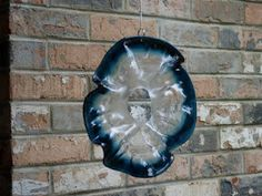 RECYCLED PLASTIC PLATE WIND SPINNER