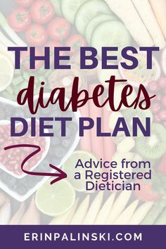 The best diet for diabetes isn't only about weight loss. The best diet for diabetes isn't a fad…it's a lifestyle. There's no one size fits all diet for diabetes. The best diet for diabetes is the one…