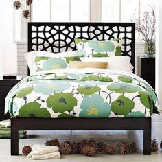 I just love this head board