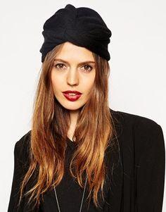 ASOS+Fine+Rib+Knitted+Turban+Hat