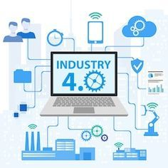 Industrial internet or industry infographic. Industrial Cyber Physical Systems concept ,Infographic Icons of industry 写真素材 - 116692426 Cyber Physical System, Cloud Computing Services, E Commerce Business, Business Logos, Cloud Vector, Letterhead Design, Vector Online, Business Planning