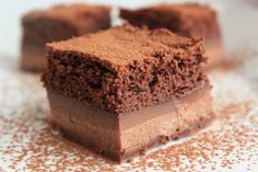 Tarta magica de chocolate ~ Spanish recipe ~ Chocolate Magic Cake
