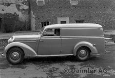 Mercedes-Benz Typ 170 S-V / 170 S-D Kasten-Lieferwagen, Aufbau Lueg, 1953-55