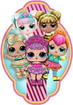 Lol cumple - Her Crochet Lol Doll Cake, Paper Dolls Printable, Doll Party, Lol Dolls, Spiderman, Creations, Birthday Parties, Birthday Cake, Kitty