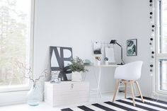 Nordic Home, Nordic Style, Office Desk, Home Office, Cosy House, Interiores Design, Lifestyle, Blog, Inspiration