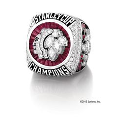 The Chicago Blackhawks held a private ceremony in Chicago to distribute their 2013 Stanley Cup championship rings on Sunday.The Blackhawks collaborated with Jostens, a Minnesota-based company, to design the rings. Chicago Blackhawks Wallpaper, Stanley Cup Rings, Chicago Hockey, Corey Crawford, State Jewelry, Men's Jewelry, Blackhawks Hockey, Season Ticket, Championship Rings