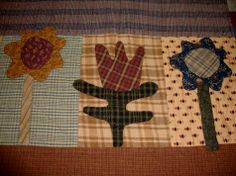 quilts made from Cheri Saffioti patterns   PRAIRIE FLOWERS QUILT