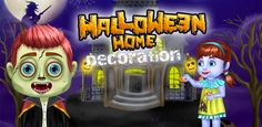 Get the in this and scare your guests & family members on this Free Halloween Games, Halloween Festival, Design Your Home, Halloween House, Ronald Mcdonald, App, Home Decor, Decoration Home, Room Decor