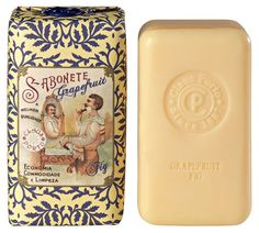 Claus Porto Rivale Grapefruit Fig Soap Bar With Wax Seal 150g