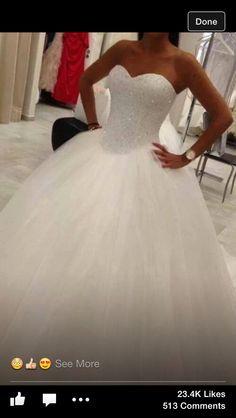 My perfect fairytale dress.x