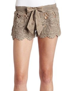 Crochetemoda: shorts