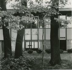 Mid Century Modern House, George Nelson Architect #eames @hermanmiller