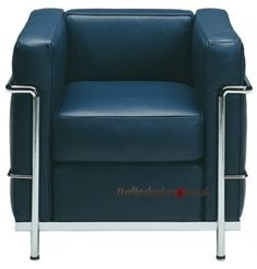 Bauhaus: Le Corbusier's Grand Comfort Chair was reportedly intended to replace traditional easy chair.