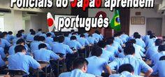 Policiais do Japão aprendem português. – AMJ