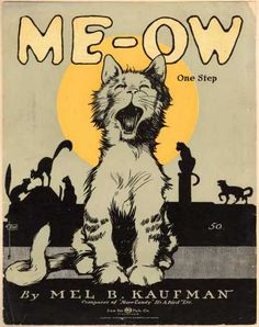 Sheet Music - Me-ow one step