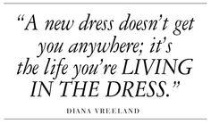 I love dresses, but I never forgot this.