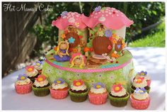 Claire and Ella's Fairy Land Cake