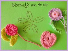 Haken en meer: Patroon bloemetje