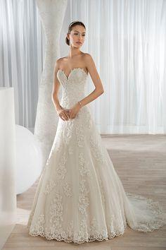 Wedding gown by Sposabella by Demetrios