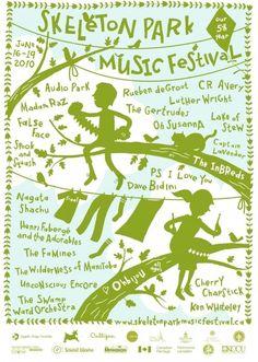 skeleton park music festival - Google Search