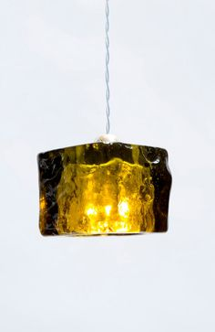 Olivia Ceiling Pendant Light Cube/ #HandMade / Green Olive Epoxy Cube  by #AyaandJohn Aya and John create outstanding light fixtures, that are produced by expert designers and artisans. For product information email info@ayaandjohn.com
