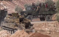 Die syrischen Regierungstruppen haben im Rahmen einer großangelegten Offensive im Norden der Provinz Hama erneut die Stellungen der Oppositionskämpfer in der Nähe des Dorfes Maan angegriffen.