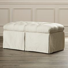 House of Hampton Cooper Tufted Upholstered Microdenier Storage Bench & Reviews | Wayfair
