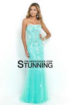 2015 Big Clearance Prom Dresses Strapless Column With Beading And Applique US$ 139.99 SPPE6KT1R5 - StunningPromDresses.com for mobile