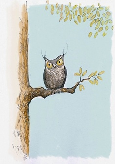 'I Should Be Sleeping - Cranky Owl' by LustreLustre