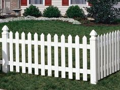 Cape cod vinyl #fence by Arbor Fence