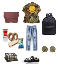"""I know my place"" by containedcomfort ❤ liked on Polyvore featuring Converse, Victoria Beckham and Kathy Ireland"