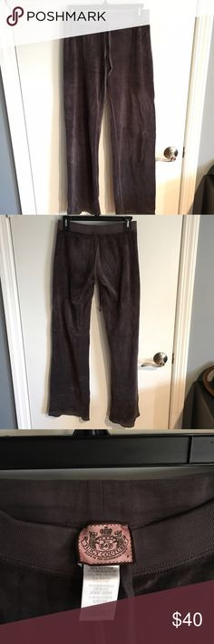 Juicy Couture Sweatpants Juicy Couture Velour Sweatpants Bottoms.  Grey color.  Great condition, still very soft.  Size P - XS  Will bundle with matching top for $70 total. Juicy Couture Pants