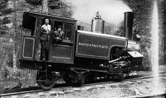 Manitou & Pikes Peak Railroad - 1895